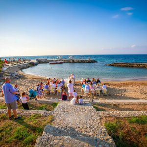 About North Cyprus Ada Beach Wedding