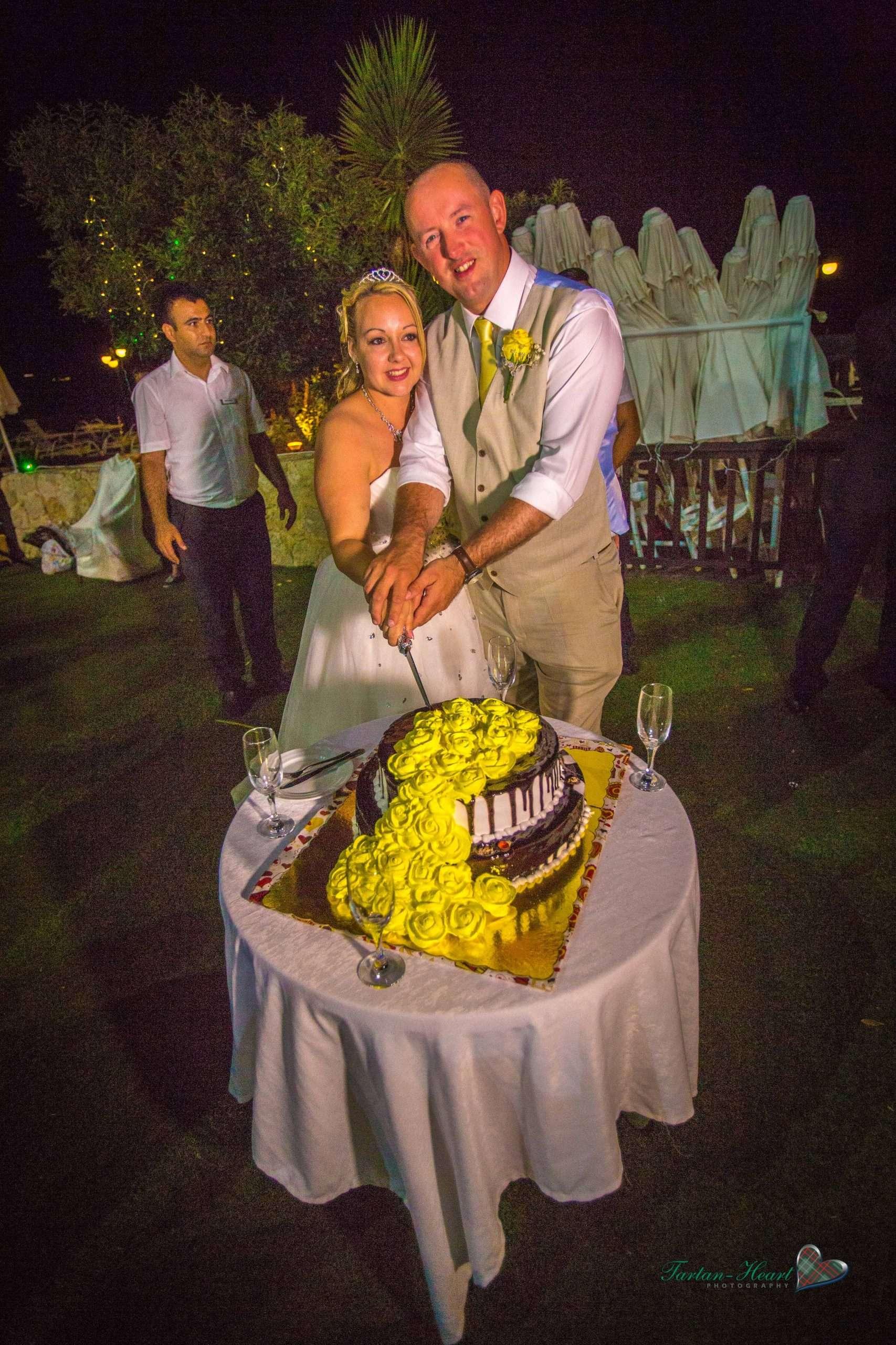 Cakes weddings in north cyprus