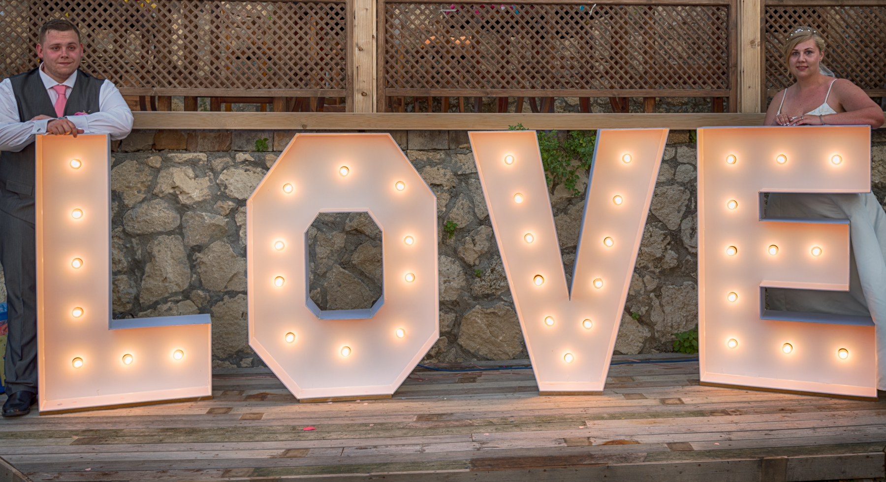 wedding decoration weddings in north cyprus love letters