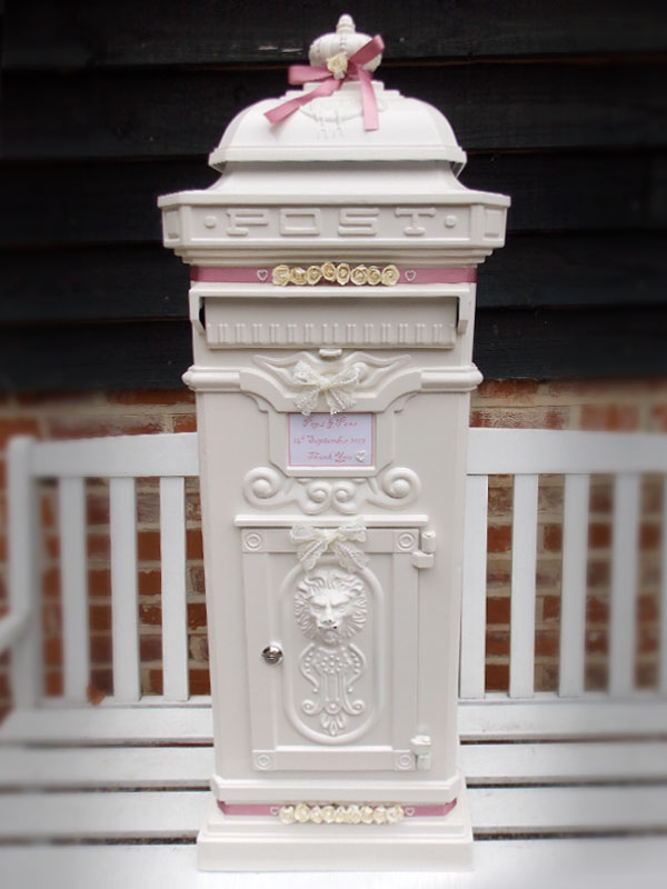 decoration weddinng in north cyprus postbox
